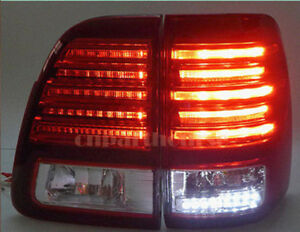 Taillight Assembly Led L R Lx470 Style For Land Cruiser Lc100 Fzj100 98 07