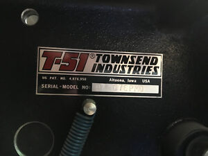 Townsend Industries T 51 Swing Away T head For Itek 975cpd