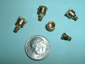 4 Super Mini Model Hit Miss Gas Engine Brass Grease Cups