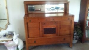 Price Reduced Antique Mission Sideboard