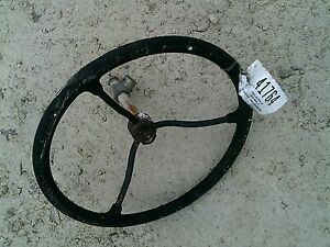 Farmall Ih Cub Tractor Ih Keyed Shaft Steering Wheel Support Holder Bearing
