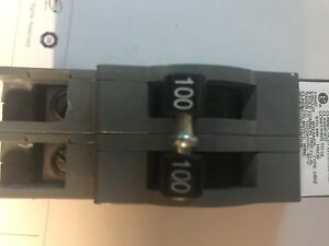 Zinsco Qc 100 2 Pole 100 Amp Plug In 120 240v Circuit Breaker