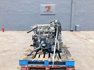2007 Isuzu 4hk1tc Diesel Engine Fam 7szxh05 23fb 200hp Isuzu Npr Nrr Engine