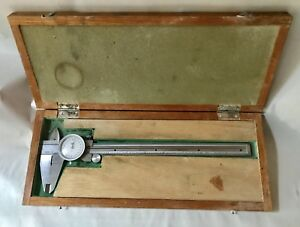 Kanon Dial Caliper 0 8 Model 15746 In Original Wooden Case