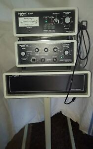Chattanooga Intelect 230 Intelect 150 Ultrasound Generator Mobile Cart W extras