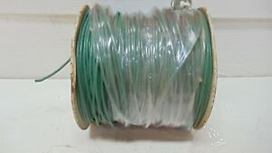Approx 200 Ft Berkshire Husky Electrical Automotive Green Cable New