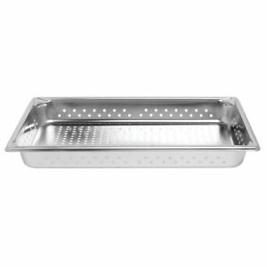 Superpanv S s Full Size X 2 5 D Perforated Steam Table Pan
