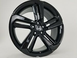 2018 19 Fits New Accord Sport Wheels 19 Gloss Black Rims Honda Acura