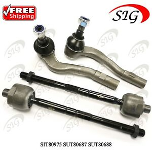 4 Jpn Tie Rod Kit For Mercedes benz C230 2002 2005 2006 2007 Same Day Shipping