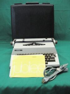 Vintage Royal Jubilee 12 Typewriter Made In Holland manual Guaranteed