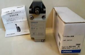 Omron D4a 1101n Limit Switch With Arm