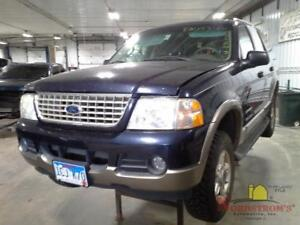 2002 Ford Explorer Rear Axle Differential 3 55 Ratio 4x4