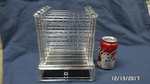 2660m Acrylic 60 Pair Earring Retail Display Case W removable Trays