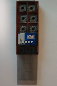 Iscar Carbide Inserts Cnmg433 Grade Ic806 10 Pcs New In Box