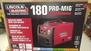 New Lincoln Electric Pro Mig 180 Wire Feed Welder
