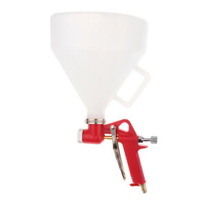 Air Hopper Texture Spray Gun Painting Sprayer 4 0 6 0 8 0mm 3 Nozzle New