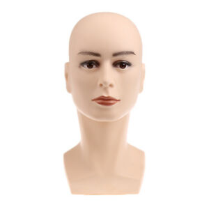 Mannequin Head Model Manikin Wigs Glasses Hats Store Window Display Holder