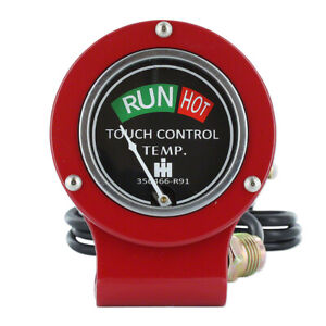 New Farmall Hydraulic Temperature Gauge 140 130 Super A 100 200 Tractors