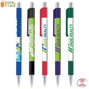 Printed Pens Imprinted With Your Company Name Logo text In Full Color 250 Qty