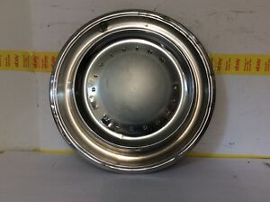 Vintage 1970 Plymouth 15 Hubcap Fury Satellite Good Condition Oem