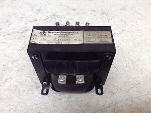 Watertown Transformer Pp700 1z 0 250 Kva 250 Va Control Transformer Pp7001z