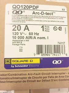 Ten 10 New In Box Square D Qo120pdf Combination Circuit Breaker Lowest Price