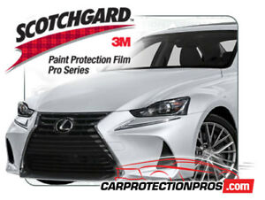 2020 Lexus Is 300 350 Turbo 3m Pro Series Clear Bra Deluxe Paint Protection Kit