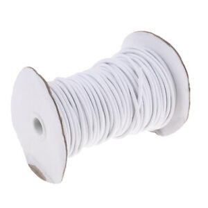 4mm Round Rubber Coated Polyester Elastic Bungee Rope Shock Cord Tie Down