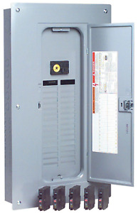 Indoor Main Breaker Box Load Center Pack 100 Amp 32 Space 32 Circuit Panel Case