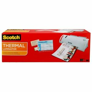 3m Scotch Thermal Laminator Combo Pack 15 5 34 x6 75 34 x3 75 34 Includ