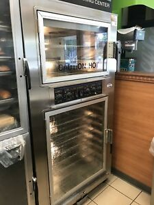 Nu vu Sub 123 Proofer Oven Combo 208v Double Decker Bread Baking Center