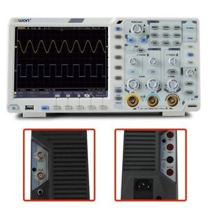 200mhz Digital Oscilloscope 2 Ch Lcd 1gs s 8bits Usb Lan Aux Measurement Station