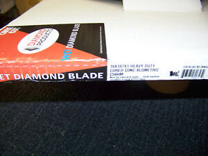 Diamond Products Wet Core Cut Heavy Duty Cured Concrete Diamond Blade 80653 New