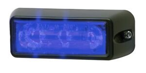 Whelen Linear3 Led Lighthead Clear Lens W Blue Led Model Rsb02zcr