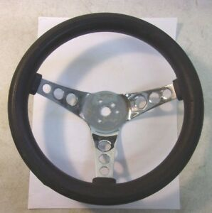 Superior Performance Products 500 Steering Wheel Black Foam Rubber 12 Reduced