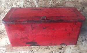 Ford Tractor 8n 9n 2n Tool Box Original Nice Shape