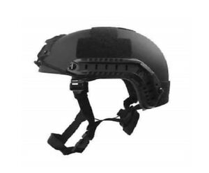 FAST Special Forces High Cut Ballistic Helmet Black w Accessories-- Black-