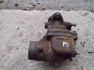 Farmall M Mv Early Sm Ih Tractor Engine Motor Carburetor Assembly
