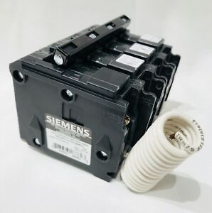 New Siemens 100 Amp Shunt Trip 3 Pole Circuit Breaker Type Bl 240v Bolt On
