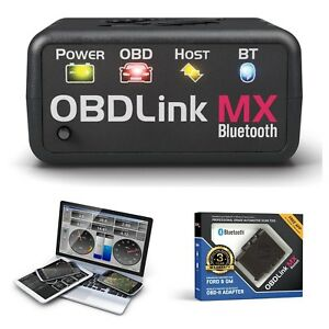 Professional Automotive Scan Tool For Android Windows Obdlink Mx Bluetooth