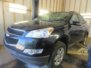 Rear Bucket Seat Black Leather Folding Trim Code 19i 2012 Chevy Traverse 796444