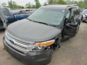 Rear Bench Seat Grey Leather Folding 2015 Ford Explorer 799461