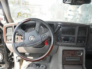 Steering Wheel Wood Trim Leather Accesory Control Cadillac Escalade 04 05 06