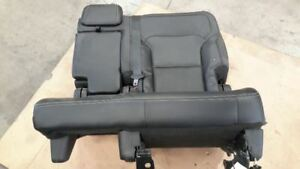 2017 Ford Explorer Limited 2nd Row Left Black red Bench Seat 10120