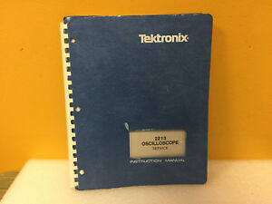 Tektronix 070 3827 00 2213 Oscilloscope Service Instruction Manual