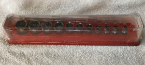 Snap on 211fsy 11 Pc 3 8 Drive 6 point Shallow Socket Set New With Tray