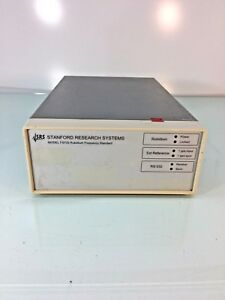 Stanford Research Systems Fs725 Rubidium Frequency Standard Tested