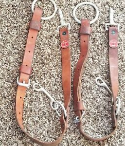 2 Atlas Safety Equipment Ny1974 Heavy Duty Thick Leather Climbing Utility Belts