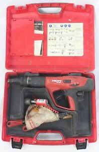 Hilti Dx 460 Powder Actuated Tool Nail Gun With Case