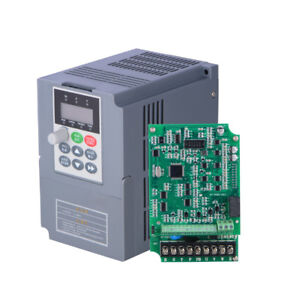 Vfd Universal Frequency Converter 2 2kw 3hp Single Phase Vector 220v For Cnc